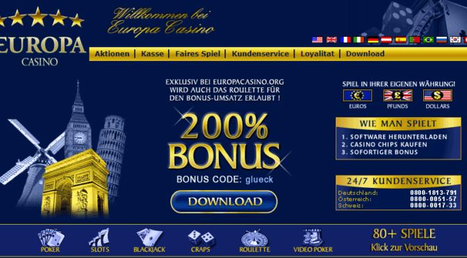 Top Guide of Europacasino